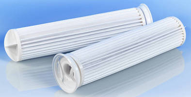 Pleated Filter Bags offer retention rates from 1-50 µm.