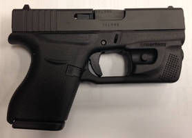 LED Weapon Light adds illumination and 1 oz to Glock 42/43.