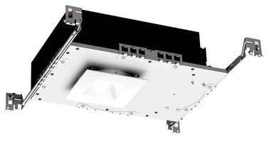 Low-Profile LED Downlight accommodates shallow ceiling plenums.