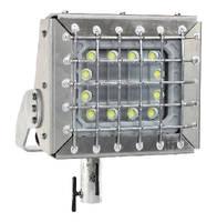 Explosion Proof LED Light features pole top slip fit mount.