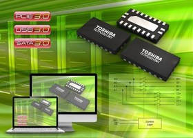 Single-Lane SPDT Switches support 3rd generation PCI Express.