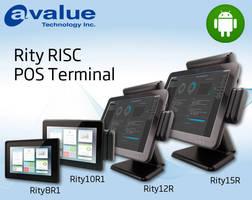 Android Touchscreen Terminal serves POS and retail applications.