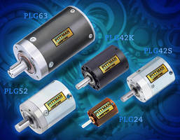 Planetary Gearboxes serve precision motion-control applications.