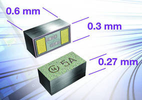 BiSy Single-Line ESD Protection Diode conserves board space.