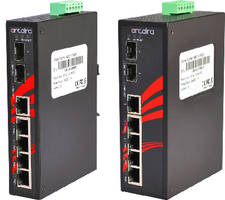 Unmanaged PoE+ Switches provide 7 ports.
