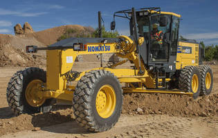 Motor Grader is powered by EPA Tier 4 Final certified engine.
