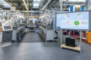 Industry 4.0 Award for Bosch Rexroth Assembly Line