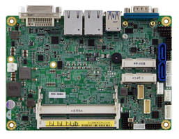 Compact SBC leverages 5th Generation Intel Core CPUs.