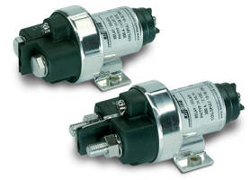 Lightweight Power Relays are sealed to IP67 and IP6K9K.