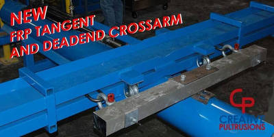 Deadend 3 5/8 in. Crossarm increases grid reliability.