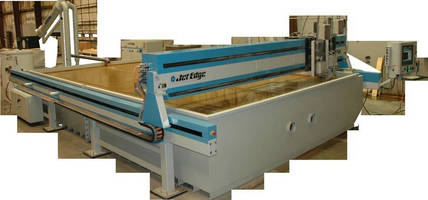 JACQUET West Installing Massive New Jet Edge Waterjet System