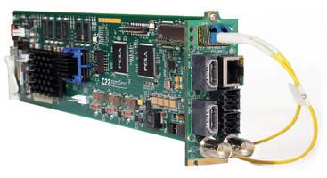 PESA Debuts openGear C22 Encoding/Decoding Cards at NAB 2015