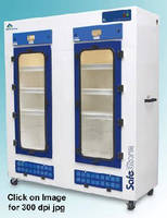 Storage Cabinets trap noxious and odorous chemicals.