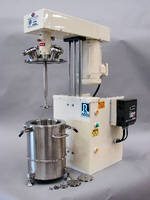 High Speed Disperser suits vacuum mixing applications.
