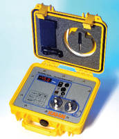 Portable Hygrometer offers spot check measurements to -58°F.