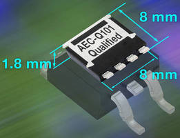 Compact Power MOSFET is designed for automotive applications.