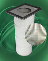 Synthetic Dust Collector Filter offers moisture resistance.