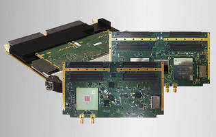 25 GS/s Wide-Band Receiver and Transmitter Board-Set for EW and Wideband Communications Announced by Curtiss-Wright