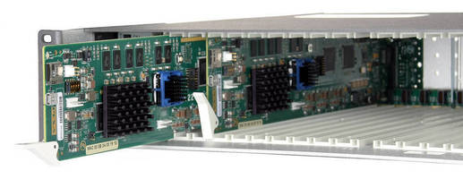 New PESA Blade System Integrates High Density Streaming Into Traditional Baseband Environments