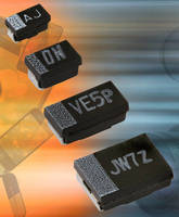 Solid Tantalum SMD Molded Chip Capacitors conserve PCB space.