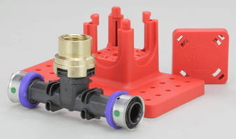 Polymer Fire Protection Fittings offer facilitated installation.