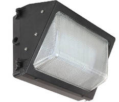 LED Wall Pack Light replaces 400 W metal halide fixtures.