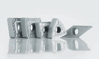 Turning Insert Grades balance toughness and hardness.