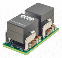 DC/DC Converter Module offers up to 481 W/in.³ power density.