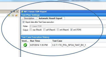 Terminal Test Tools facilitate diagnoses with TOM format.