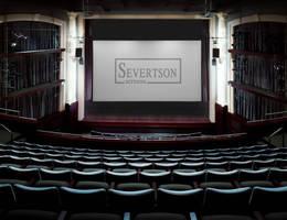 Electric Motorized Cinema Screen suits multi-purpose auditoriums.