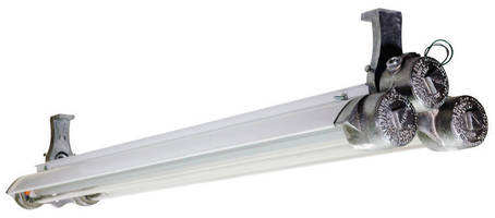 Explosion Proof LED Light Fixture is paint spray booth approved.