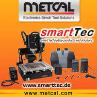 Metcal to Exhibit with SmartTec at SMT Nuremberg