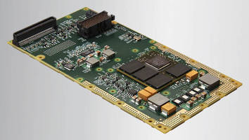 Rugged XMC Graphics Module combines low power, high performance.