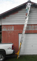 Ladder Stabilizer reduces movement and associated risk.