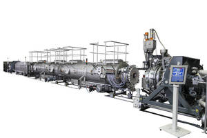Leading Systems Supplier for All Pipe and Thermoforming Sheet Extrusion Applications