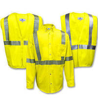Hi-Visibility Garments are manufactured using FR/AR fabric.