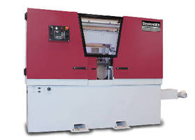 Horizontal Bandsaws feature servo-driven downfeed control.