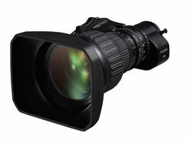 Portable Zoom Lens brings 4K performance to broadcast cameras.