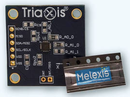 Magnetic Sensor IC Evaluation Board fosters HMI development.