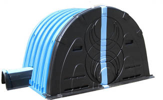 Maneuverable Stormwater Chamber has ultra-high capacity design.