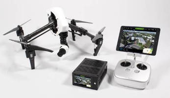 HD Live Video Transmission System utilizes aerial drone.