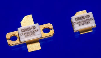 Broadband GaN HEMTs suit applications to 4 GHz.