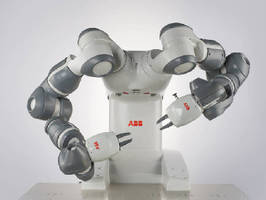 Dual-arm Robot can operate in collaboration with humans.