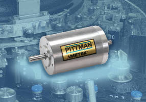Slotted Brushless DC Motors feature 44 mm diameter body.