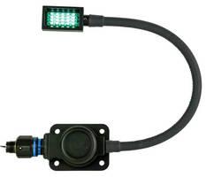 LED Gooseneck Lamp illuminates instrumentation, cargo bay areas.