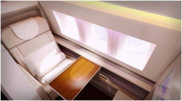The Crystal Cabin Award® 2015 Finalist CLEAR LEXAN(TM) XHR Sheet Series Give Aircraft Interior Designers Greater Flexibility and Design Freedom