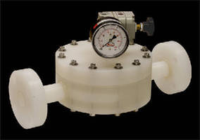 Back Pressure Regulator withstands aggressive chemicals.