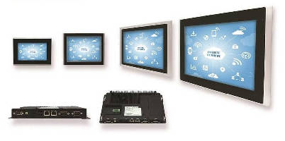 Interface Panels support 3rd party HMI and SCADA software.