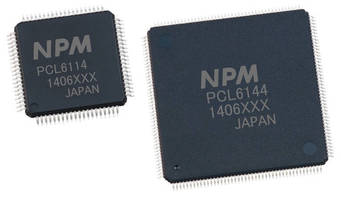 RoHS-Compliant Motion Controller Chips have 4-wire SPI interface.