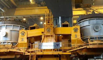 TimkenSteel Commissions World's Largest Jumbo Bloom Vertical Caster